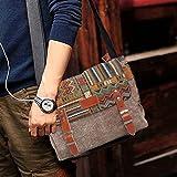 Canvas Messenger Bag for Women,Uarzt Vintage