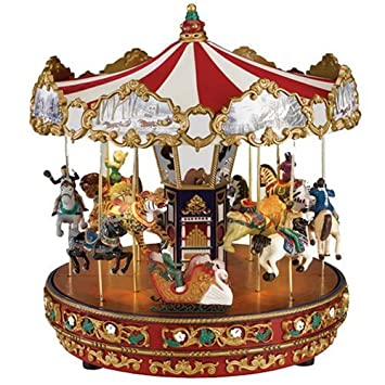 Amazon.com: Mr. Christmas The Carousel Gold Label Collection: Home ...