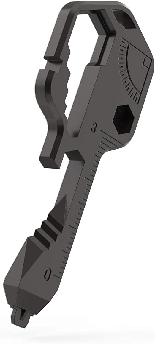 Details about  /24IN1 Multi-Tool Key Shaped Pocket Tool For Keychain w//Bottle Opener Portable