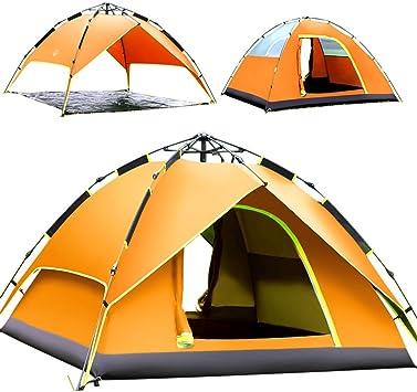 ZP Tienda de campaña, Automático Familia Individual 2 Personas 3-4 Personas Camping Tienda al Aire Libre huwaizhangpeng (Size : 2) : Amazon.es: Juguetes y juegos