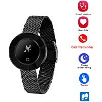 OPTA-SB-063 MOONSTONE Band Bluetooth Fitness Smartwatch for Women| Multi-Sport Mode & All-in-One Activity Tracker | Blood Pressure| Heart Rate | Sleep Monitor | smart band compatible with Android / IOS Smart phones
