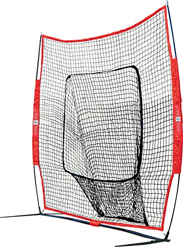 Bownet Big Mouth Colors 7 x 7 Portable Training Net Sold As Net Only , Navy Blue