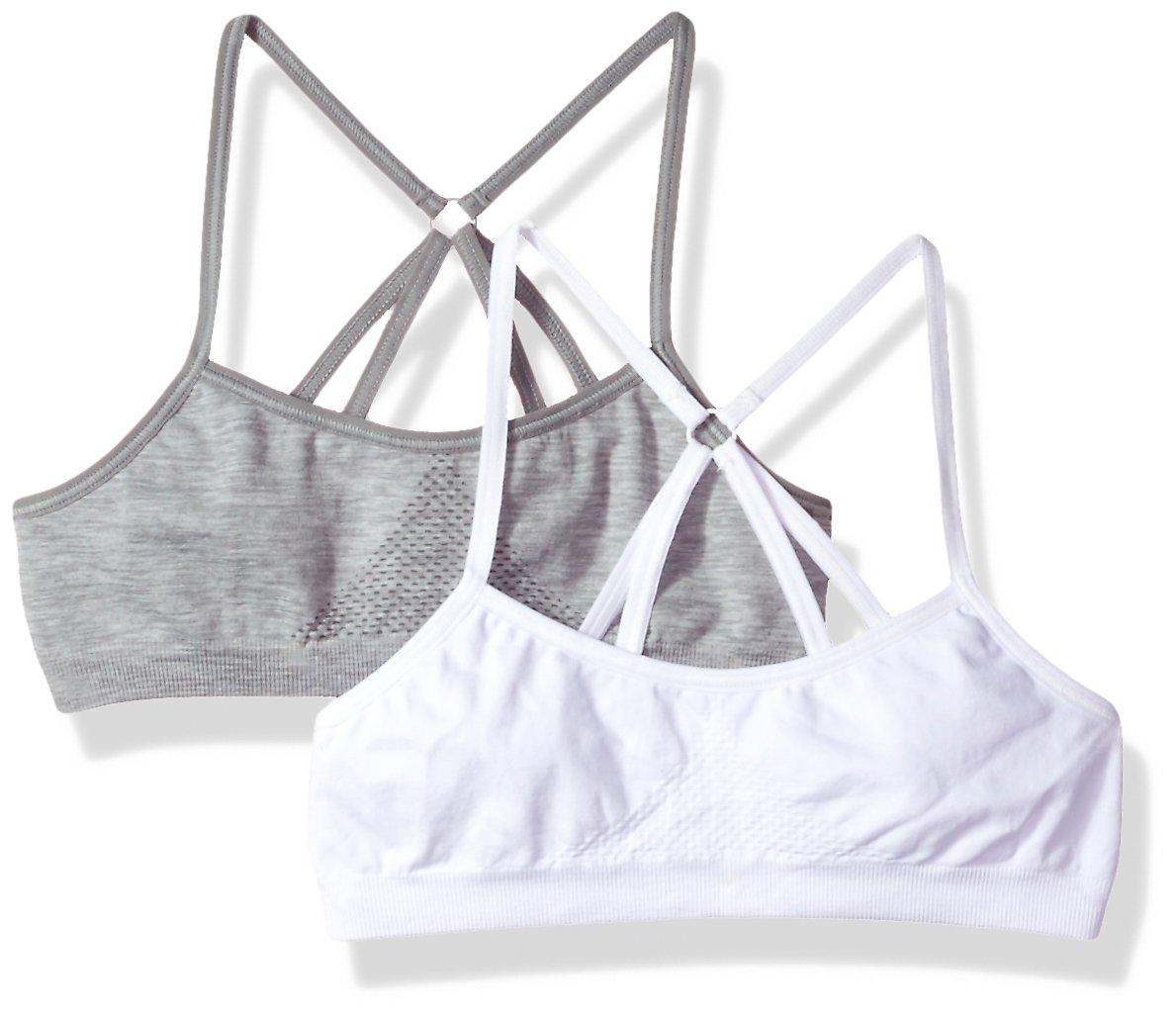 Hanes Girl's Training Bra Pack of 2 H149