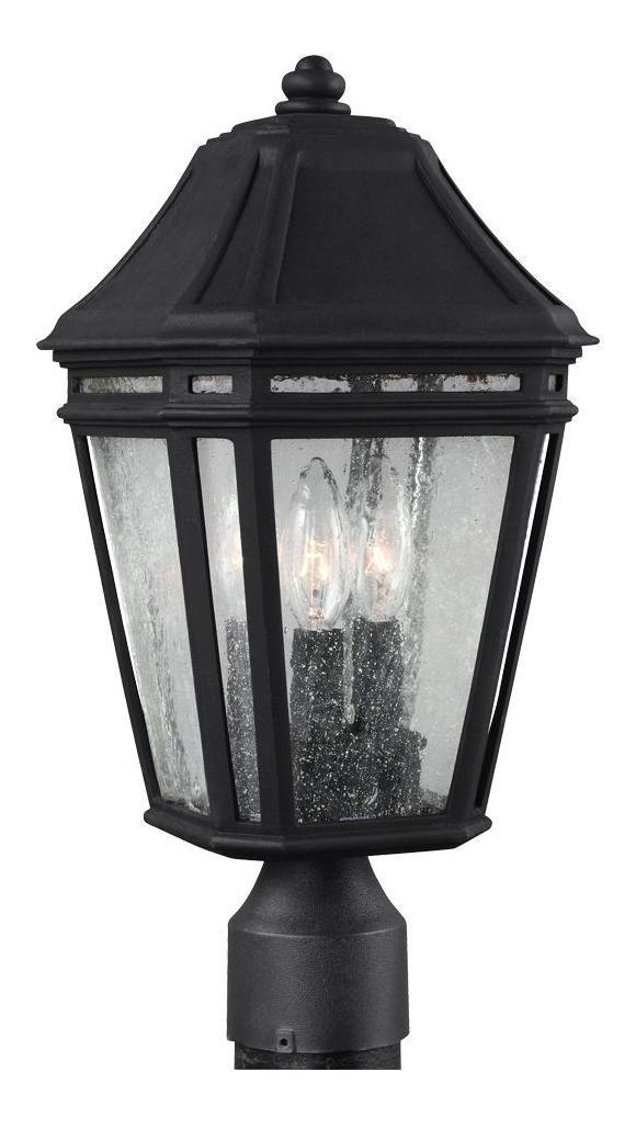 Feiss OL11307BK, Londontowne Outdoor Post Lighting, 54 Total Watts, Black