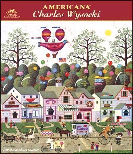 Charles Wysocki Collector's Edition 2010 Wall Calendar Publisher: MeadWestvaco