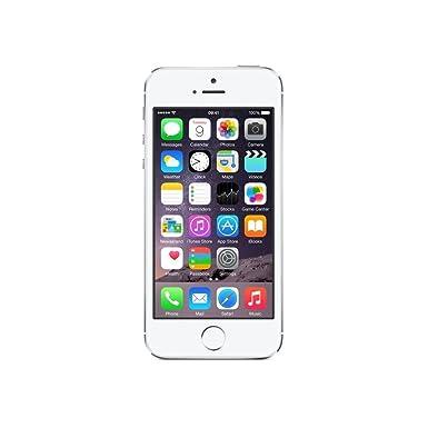 db416f7121c5e8 Apple iPhone 5s 16GB - Silver - Unlocked: Amazon.co.uk: Electronics