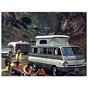 1967 Dodge A100 Camper Van Factory Photo