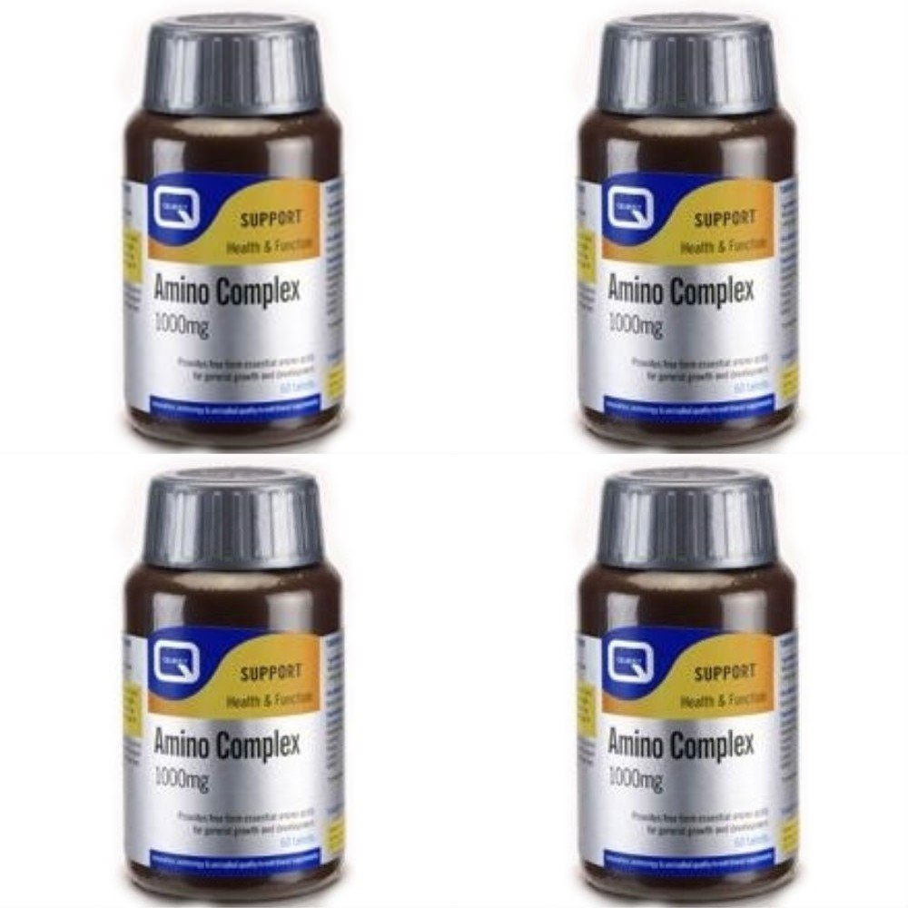 (4 PACK) - Quest - Amino Complex 1000mg | 60's | 4 PACK BUNDLE