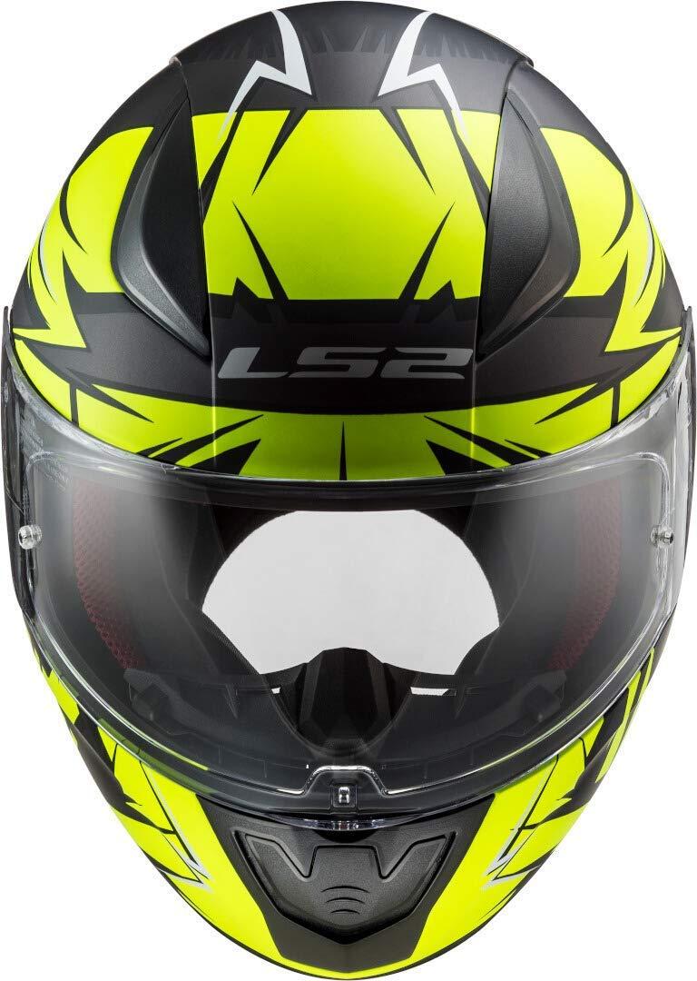 Nardo Grey, 2XL Tutti i colori e taglie LS2 FF353 RAPID CASCO MOTO INTEGRALE Full Face Casco Sportivo motociclista Integrali Racing per Adulti Caschi Nuovi 2020