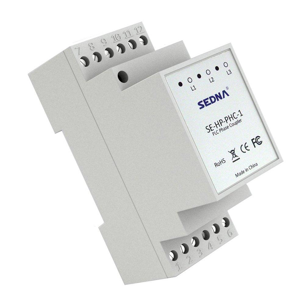 SEDNA - Acoplador de Fase de lí nea de alimentació n para adaptadores de Enchufe del hogar SE-HP-PHC-1
