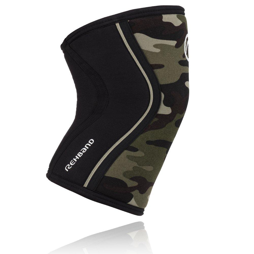Camouflage Rehband Rx Knee Support 7 mm Neopren Bandage