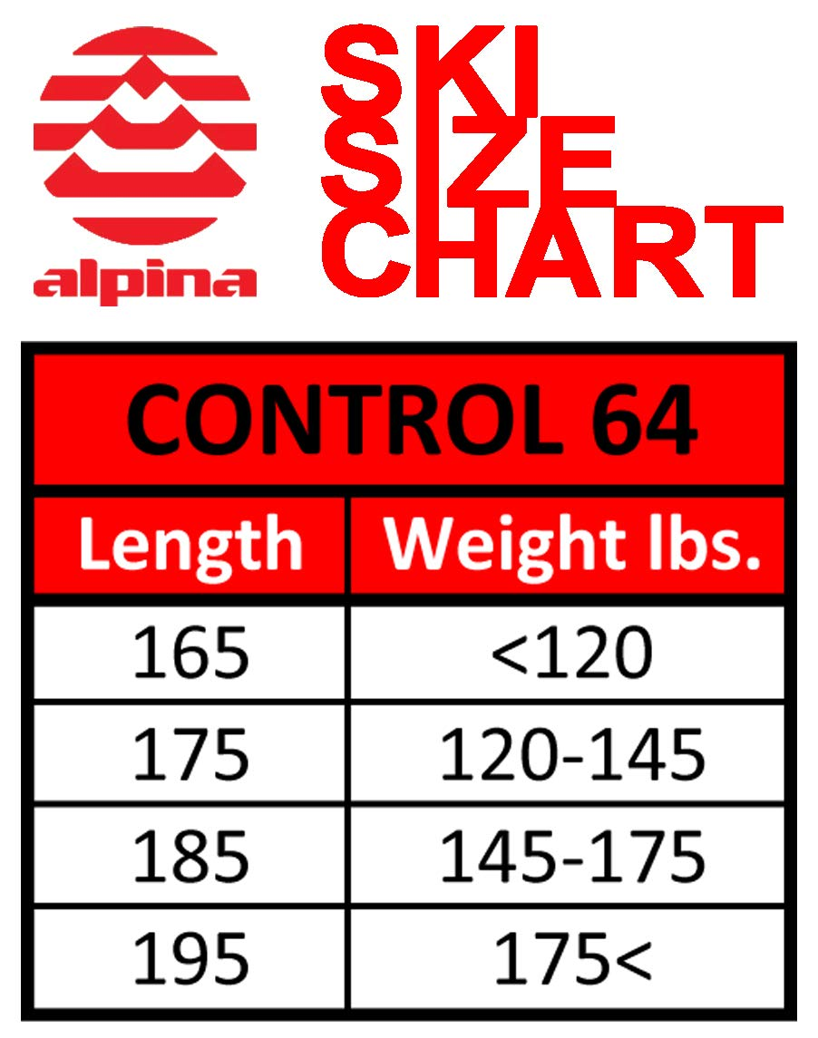 Image result for alpina control 64 size chart