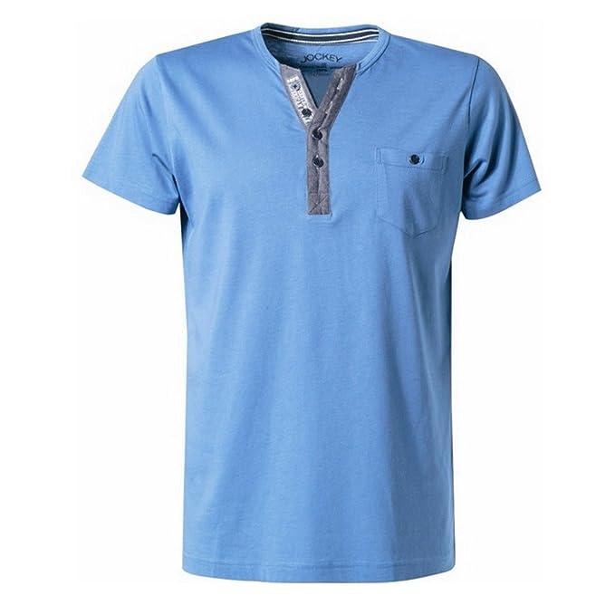 Jockey - Camiseta de pijama - para hombre star blue Small