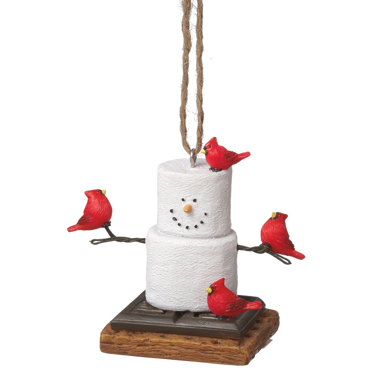 Midwest CBK S'Mores With Cardinals Ornament