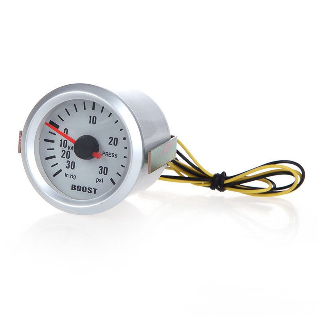 SODIAL(R) Universal Auto Car Turbo Boost Vacuum Press Gauge Meter 2' 52mm 0-30 PSI New 068325