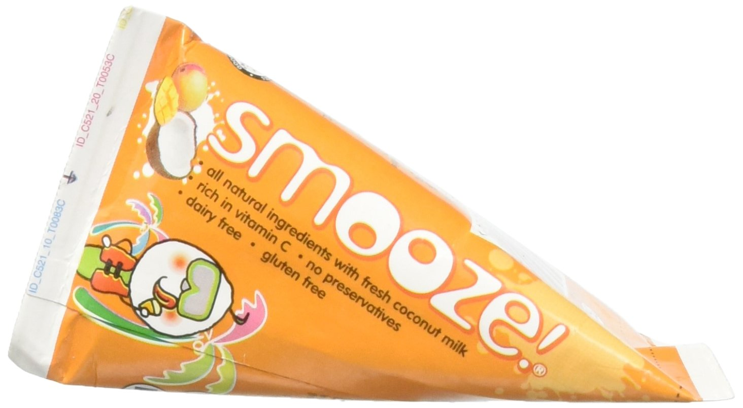 Smooze, Coconut With Mango Fruit Ice, 17.6 Fl Oz