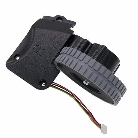 Louu Aspirador Robot Accesorios Piezas para Ilife A4 A4s Ruedas Robot Motores Aspiradora (Rueda derecha