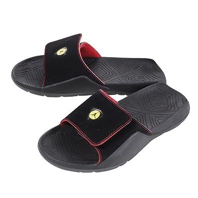 cff52113123dac Image Unavailable. Image not available for. Color  Jordan AA2517-003  Men s  Black Black-Varsity Jordan Hydro 7 Retro Premium