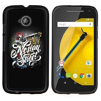 For Motorola Moto E2 E2nd Gen Case Tatouage Vitesse Amazon Fr