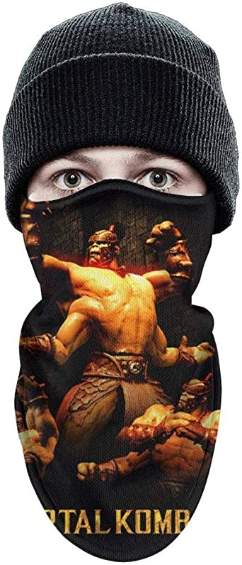 Amazon Com Unisex Winter Windproof Goro Mortal Kombat Half Face