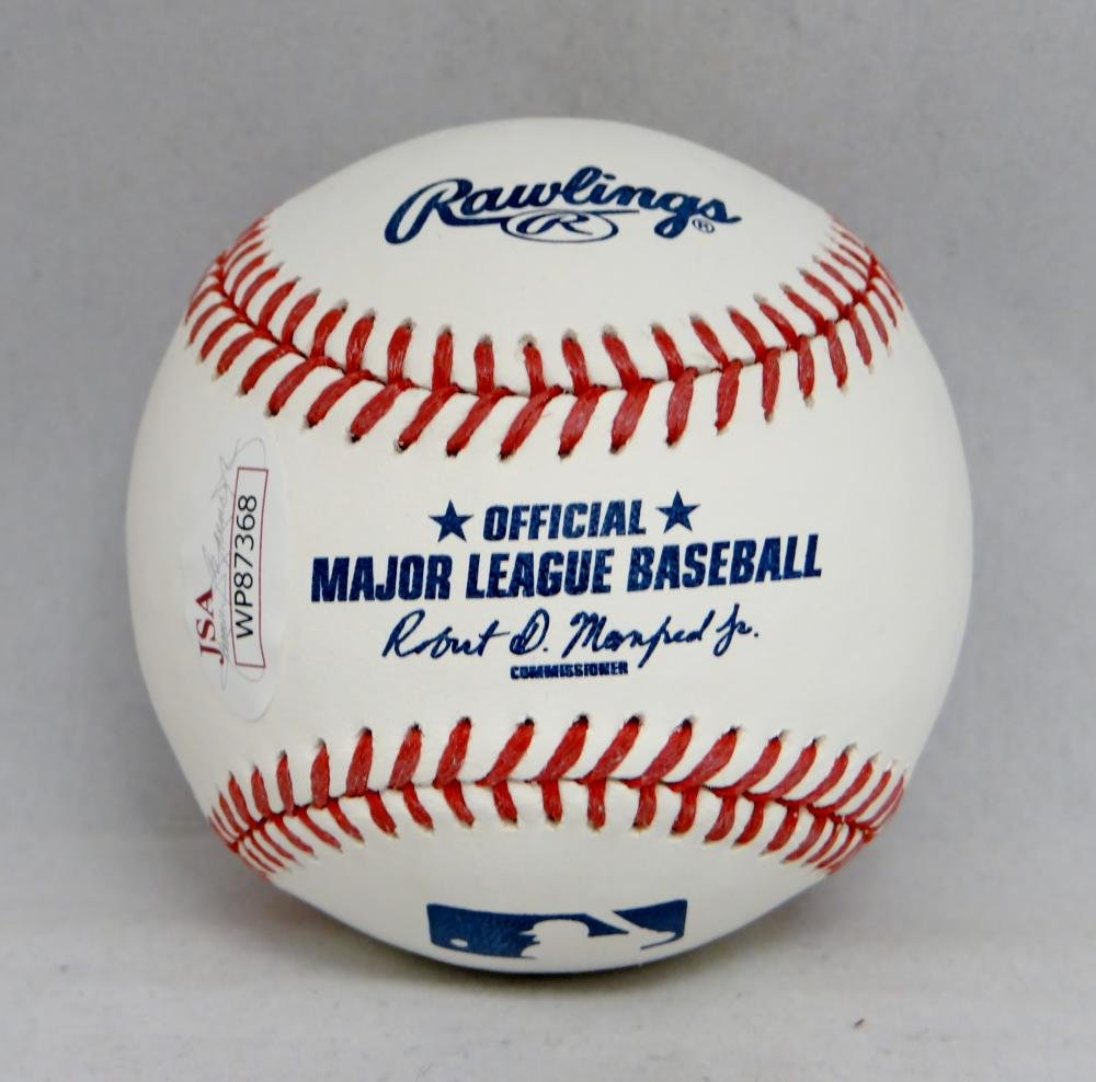 Kirk Gibson Autographed Rawlings OML Baseball- JSA Witnessed Authenticated