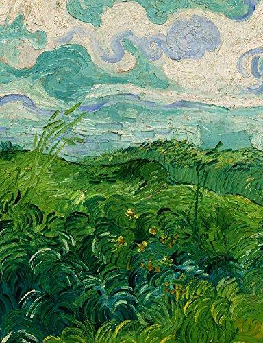 (Vincent Van Gogh Green Wheat Field Circa 1890 : Art Print)