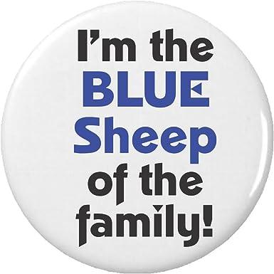 Amazon.com: I m the blue de la familia de ovejas. 2.25 ...