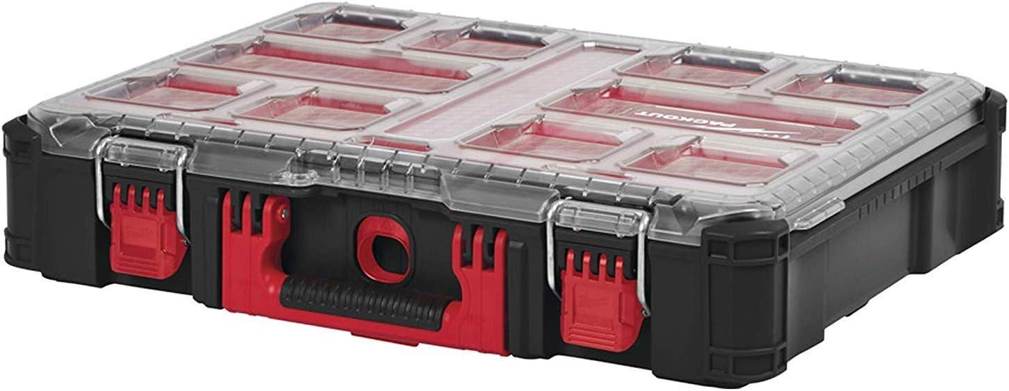 Milwaukee 4932464082 Packout Organizador Incl. 10 Cajas de Clasificación: Amazon.es: Coche y moto
