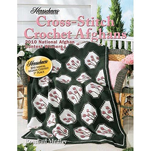 Herrschners 2010 Cross-Stitch Crochet Afghans Book, 4 patter