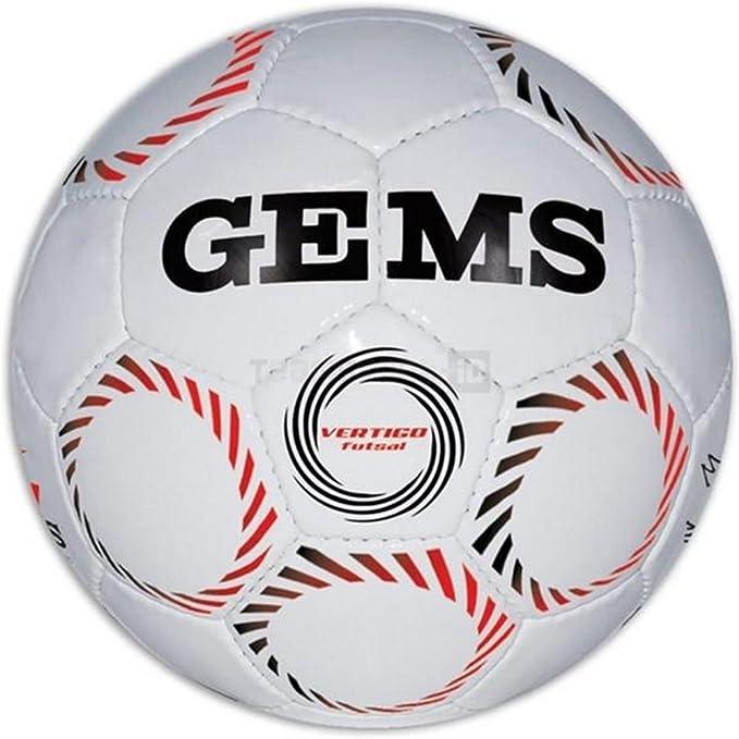 GEMS balón Vertigo Futsal A Rebote controlado (tamaño 4): Amazon ...