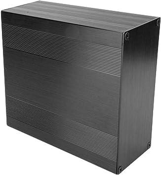 Minibox de aluminio electrónico, Caja de caja electrónica ligera ...