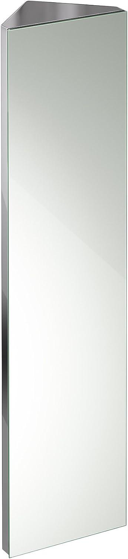1200 X 300 Tall Stainless Steel Corner Bathroom Mirror Cabinet Modern Storage Unit Mc105 Ibathuk Amazon Co Uk Diy Tools
