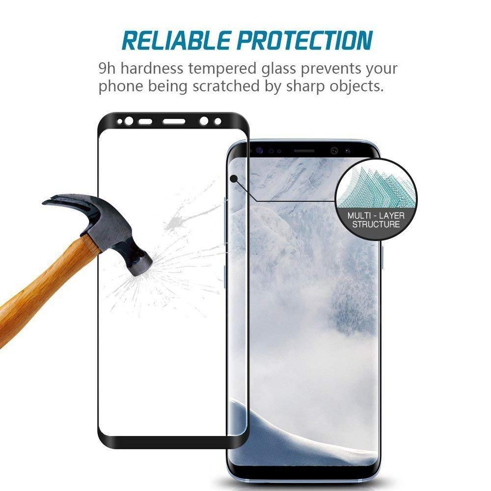 Samsung Galaxy S9 Panzerglas Schutzfolie, 9H: Amazon.de: Elektronik