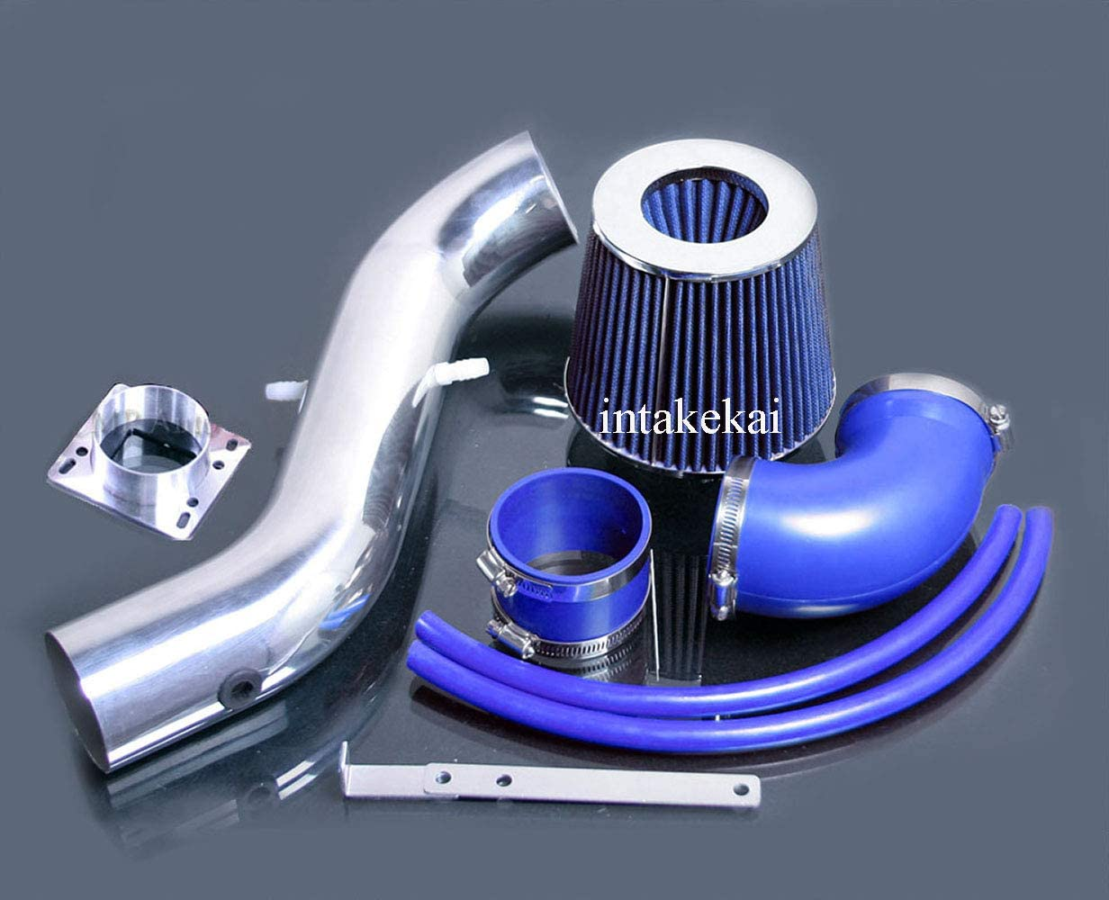 BLUE ONLY FIT ZX2 MODEL PERFORMANCE SHORT RAM AIR INTAKE KIT FILTER FOR 1998-2003 FORD ESCORT ZX2 2.0 2.0L ENGINE
