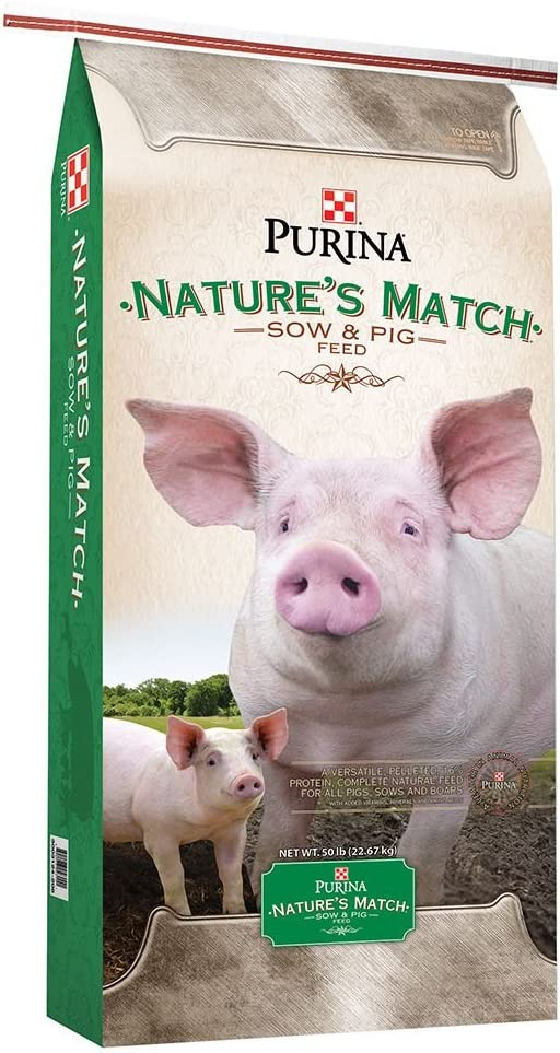 Purina Animal Nutrition Nature s Match Sow Pig Complete Feed