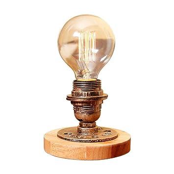 HBA American Vintage pequeña lámpara de mesa con el ...