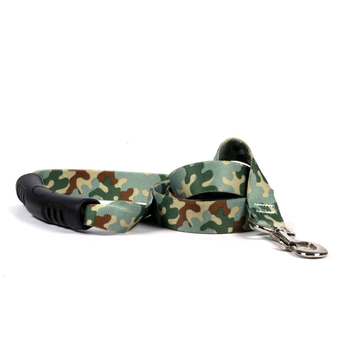 Yellow Dog Design Camo Ez-Grip Dog Leash With Comfort Handle 1'' Wide And 5' (60'') Long, Large