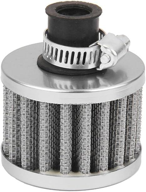 12mm Luftfilter Motor Car Turbo Lueftungs Verschnaufpause Carter Grau A2D9 G3 G3