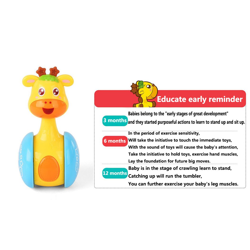 Hölzernes Rassel-musikalisches Baby Shaker Toy Baby Holding Educational Toy Gut