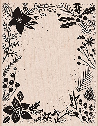 Hero Arts S6174 Holiday Floral Background Card Making Kit