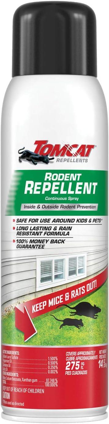 Tomcat Repellents Rodent Repellent Continuous Spray, 14 oz.