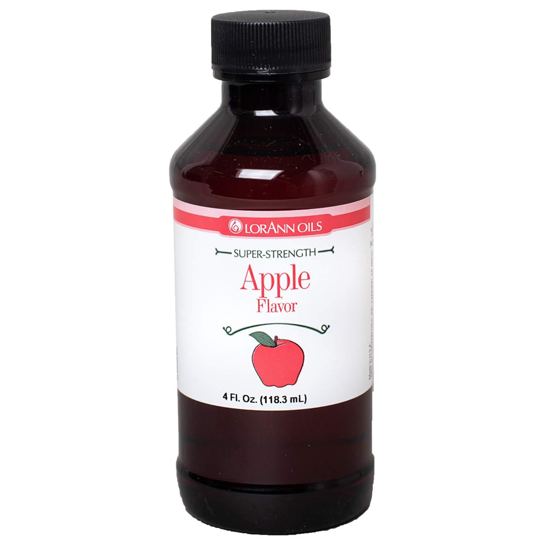 LorAnn Apple Super StrengthFlavor, 4 ounce bottle