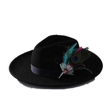 Amazon.com: Gorra de mujer vintage de color sólido con ala ...