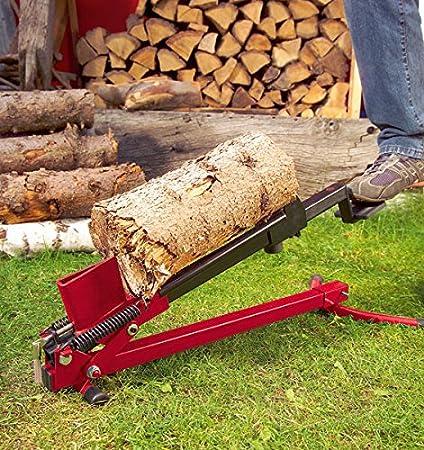 Holzspalter liegend