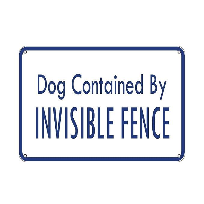 Amazon.com: Perros contenida por Invisible Fence cartel ...