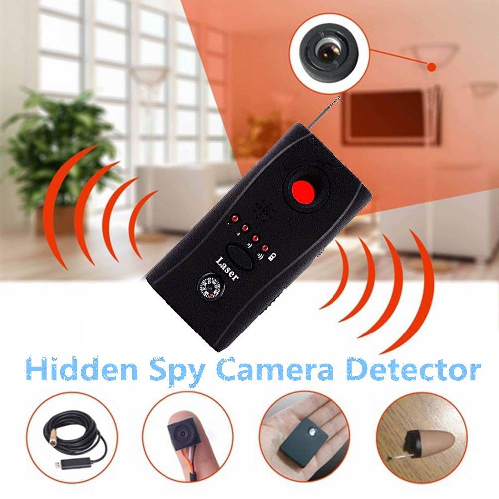 Spy Camera Detector Wireless Bug Detector, Auhko A7 Anti-spy Camera Bug RF Signal Detector Wireless Hidden Camera GPS Tracker Higher Sensitivity Multi-Functional GSM Device Finder