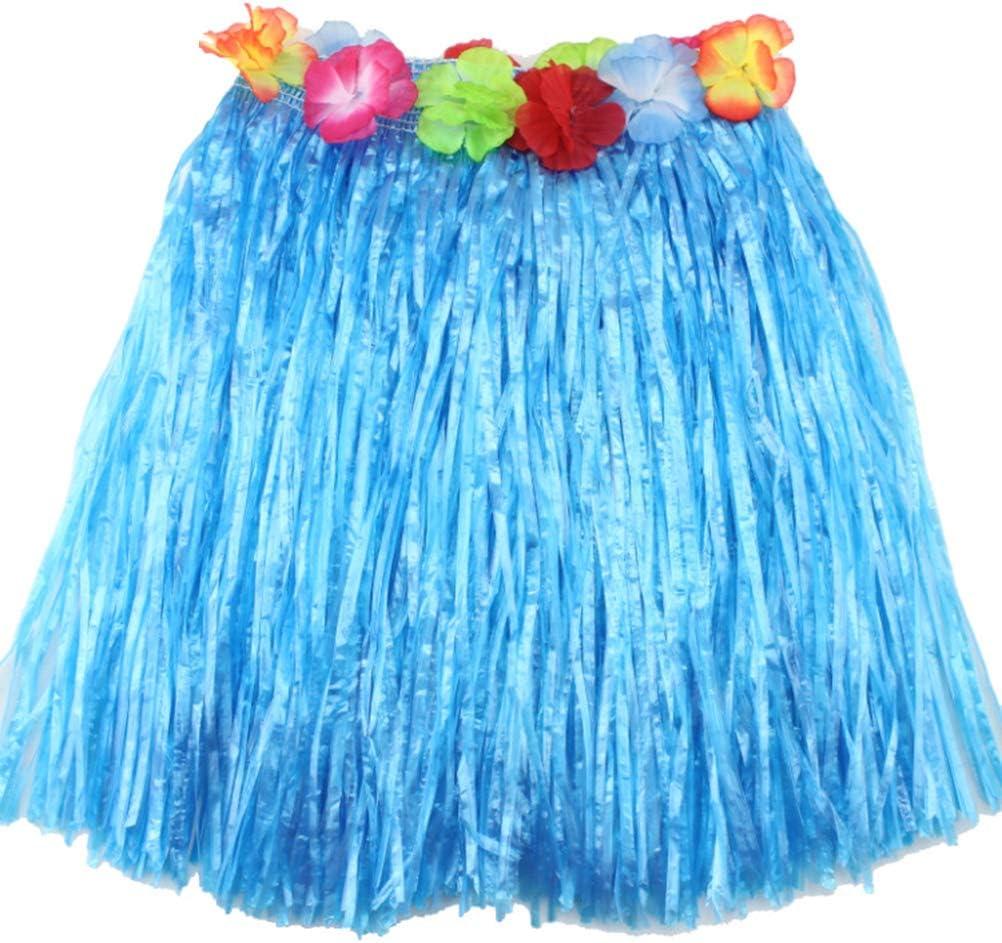 AOWA 1 Falda Hawaiana para césped, Falda Hula para Disfraz de Luau ...