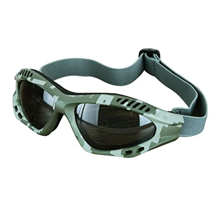 1d25c08bd6 Viriber Motorcycle Goggles Bike Goggles UV Protective Outdoor Glasses Dust-proof  Protective Combat Goggles Military