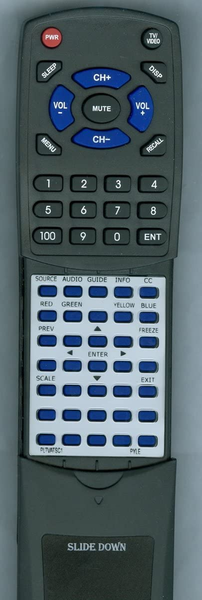 Replacement Remote for PYLE ARM32DTV PLTVATSC1