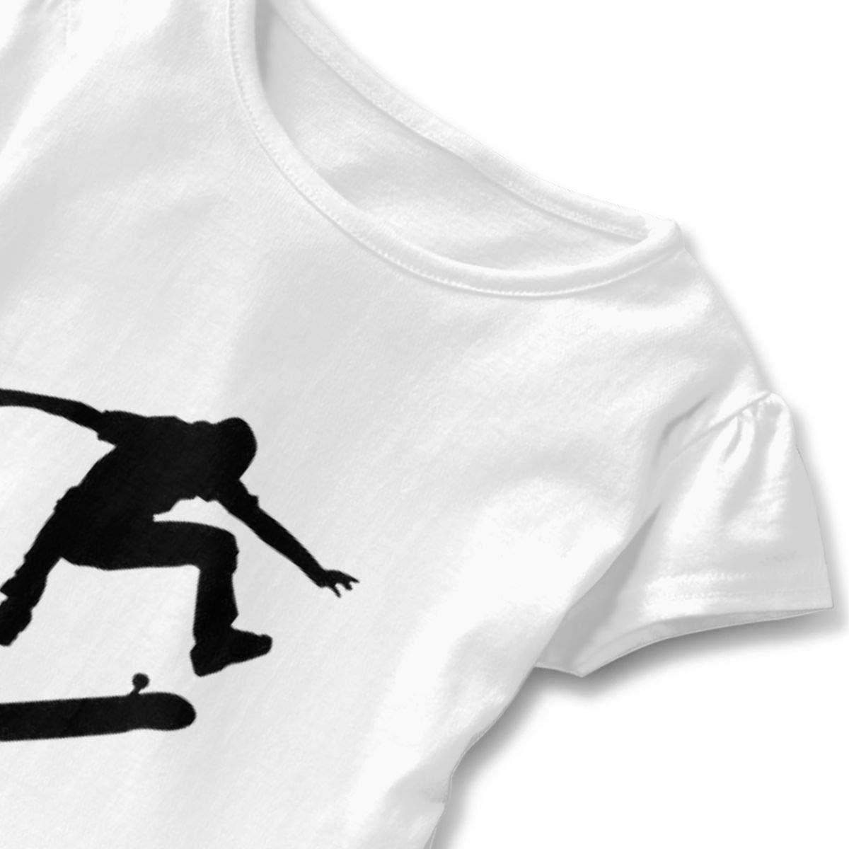 Kwai-h Skateboard Outdoor Lover Short-Sleeve Tunic T-Shirt